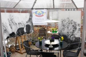Glashusets udstilling i Kunstrundedagene